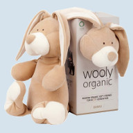 wooly organic - cuddly animals, baby towels and comforter