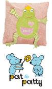 Pat-Patty-Bio-Öko-Baby-Spieluhren-Schlafsack-Decken-Kissen