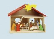 Weihnachtskrippe - Stall