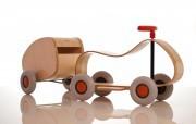 Kinderfahrzeuge aus Holz