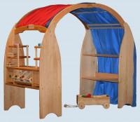 Spielhäuser, Spielständer