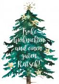Designserie Baum mit Sternen