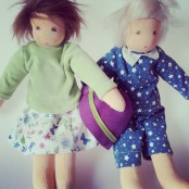 Dress-up dolls and Doll´s clothing