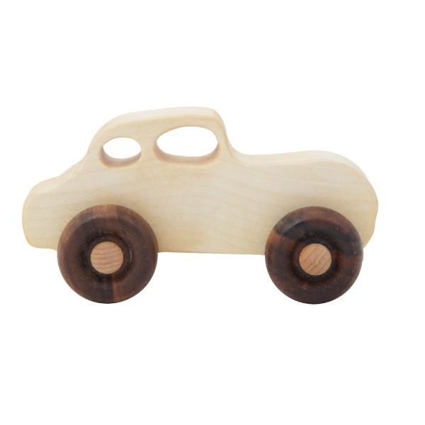 Wooden Story - Holzauto Retro - Holz, natur