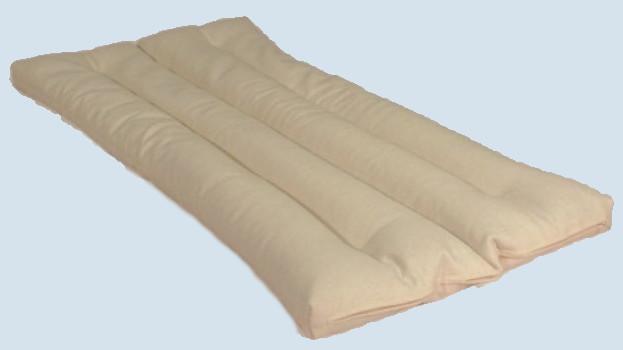 mudis - Auflage für Kindermatratze - Baumwolle, Bio Qualität