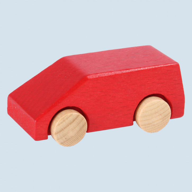 Beck - Van, Holzauto - rot, Made in Germany