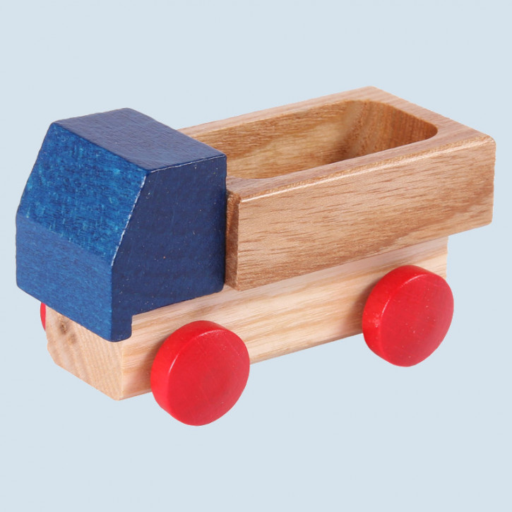 Beck - Lieferwagen, Holzauto - blau, Made in Germany