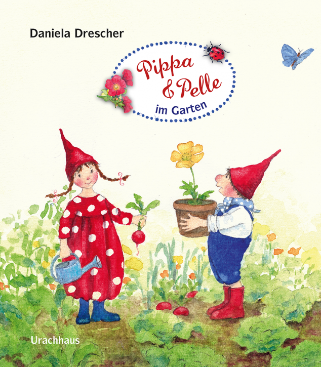 Urachhaus Verlag - Pippa and Pelle in the garden