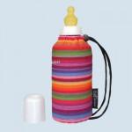 Emil die Flasche - Babyflasche gestreift - 250 ml Oberstoff Bio