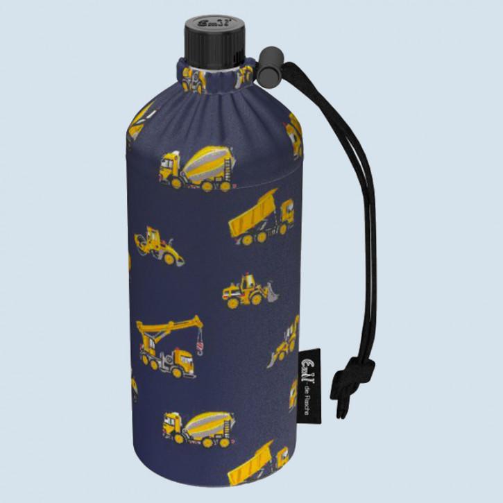 Emil die Flasche - Trinkflasche Baufahrzeuge - 0,4 L