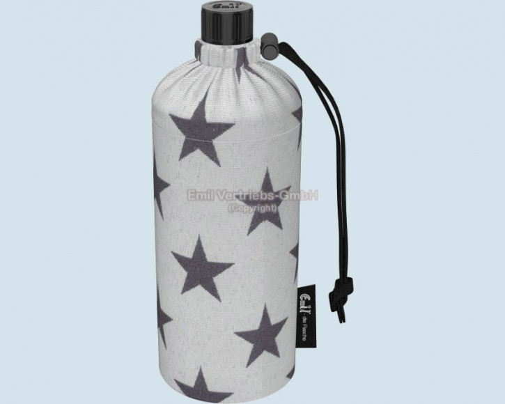 Emil die Flasche - Trinkflasche Stern - 0,6 L Oberstoff Bio