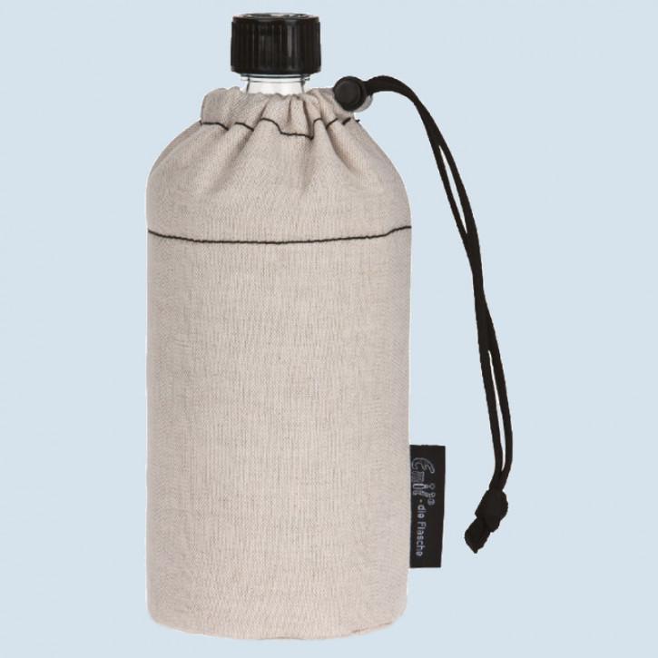 Emil die Flasche - Trinkflasche natur - 0,6 L Oberstoff Bio