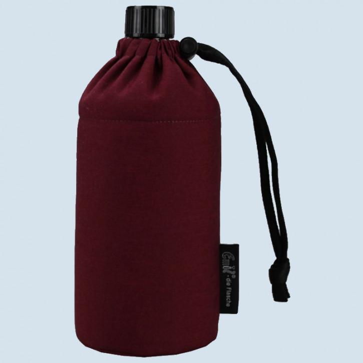Emil die Flasche - Trinkflasche weinrot - 0,6 L Oberstoff Bio