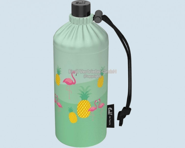 Emil die Flasche - Trinkflasche Flamingo - 0,6 L