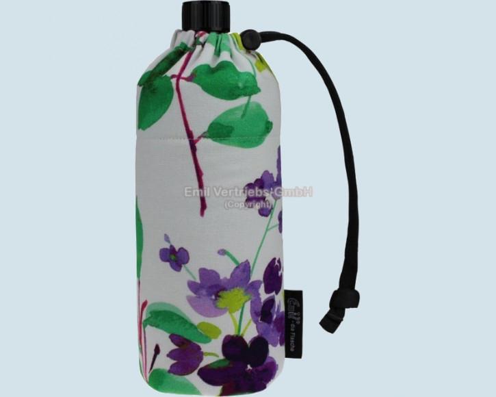 Emil die Flasche - Trinkflasche Flower  - 0,6 L , Baumwolle
