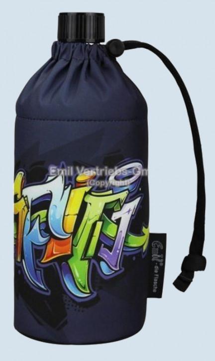 Emil die Flasche - Trinkflasche Graffiti -  0,4 L