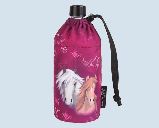 Emil die Flasche - Trinkflasche Pferd, pink - 0,4 L