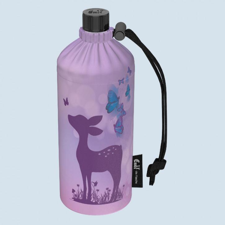Emil die Flasche - Trinkflasche Reh mit Schmetterling -  0,4 L