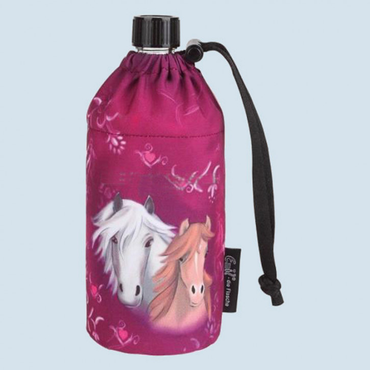 Emil die Flasche - Trinkflasche Pferd, pink - 0,3 L