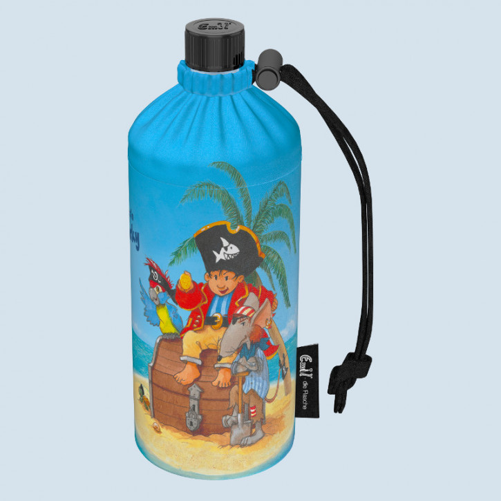 Emil die Flasche - Trinkflasche Pirat Käpt´n Sharky -  0,4 L