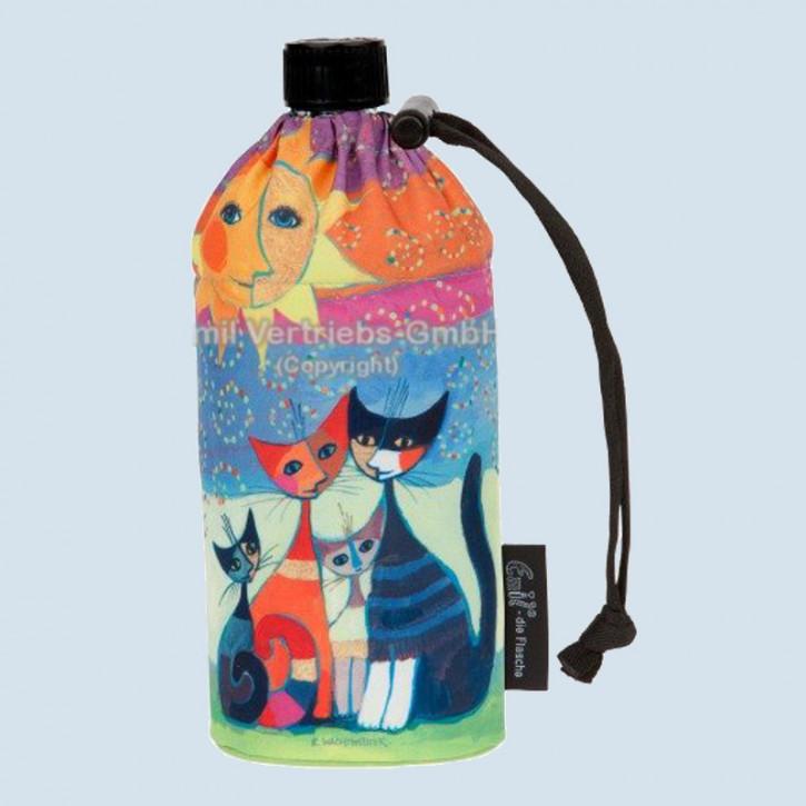 Emil die Flasche - Trinkflasche Rosina Wachtmeister, Katzen - 0,6 L