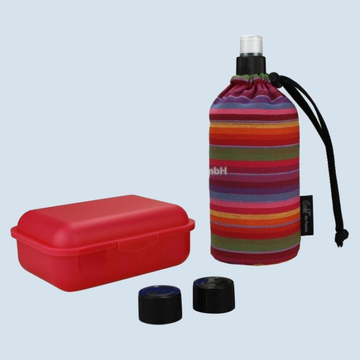 Emil die Flasche - Starter Set Streifen Bio - Geschenkset 0,4 L
