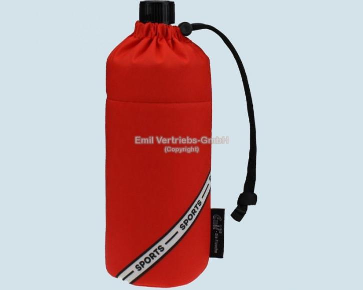 Emil die Flasche - Sport Trinkflasche - rot - red - 0,4 L
