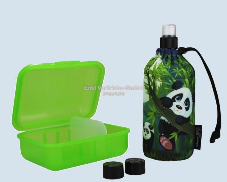 Emil die Flasche - Starter Set Panda - Geschenkset 0,4 L