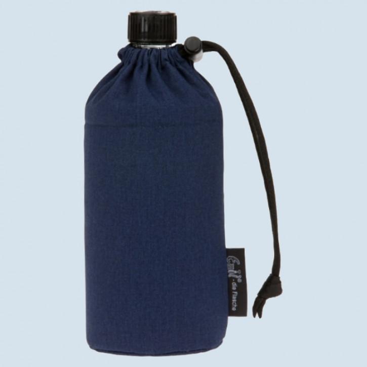 Emil die Flasche - Trinkflasche blau - 0,3 L Oberstoff Baumwolle, Bio