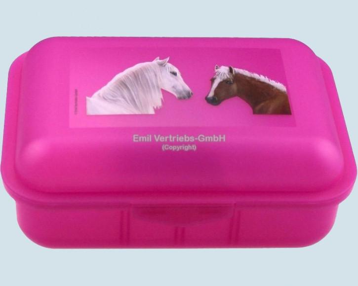 Emil die Flasche - Brotbox Pferde - Profil