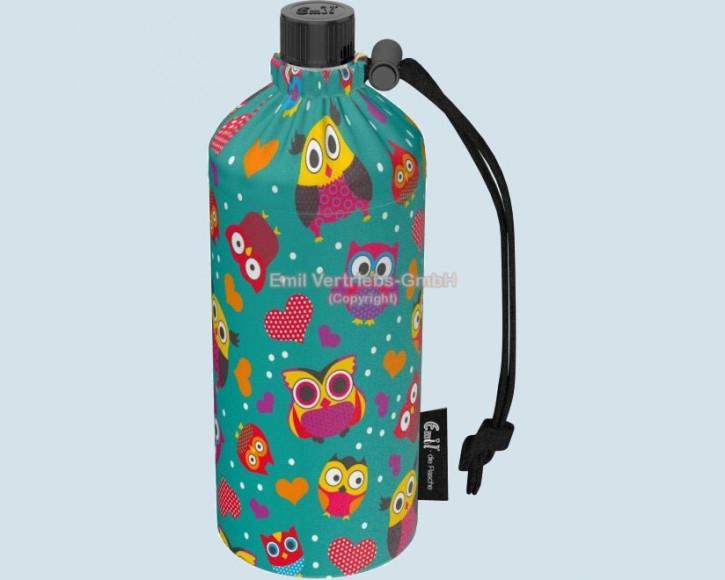 Emil die Flasche - Trinkflasche Eulen - 0,4 L