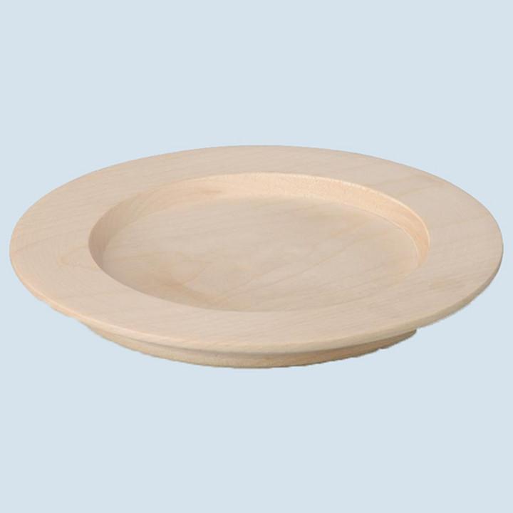 Erzi - plate, nature - wood