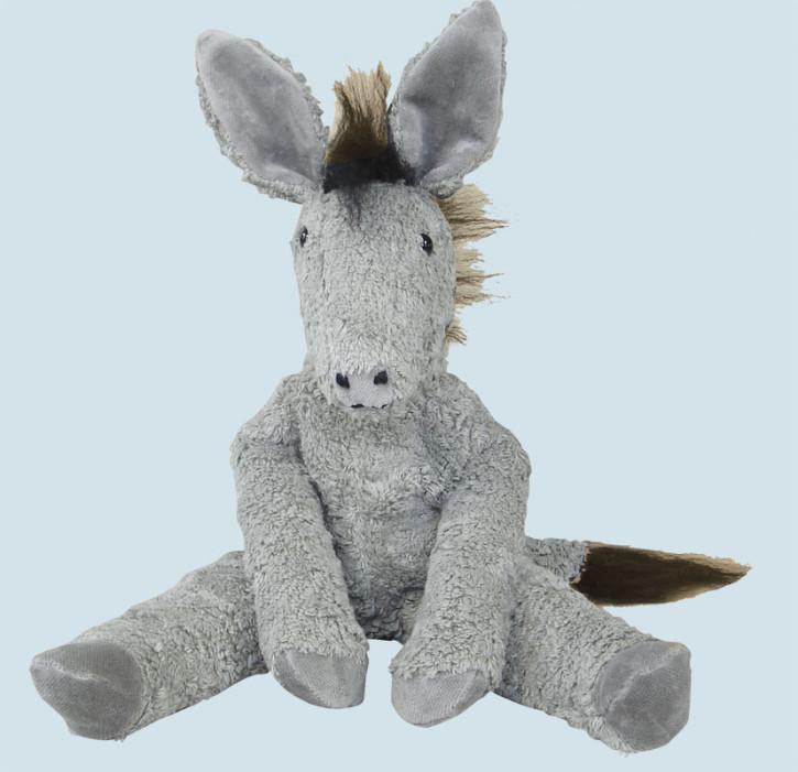 Senger Naturwelt - Kuscheltier Esel - groß, Bio Baumwolle