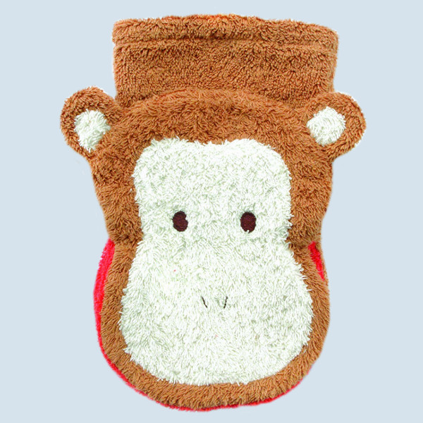 Fuernis - organic wash glove - monkey