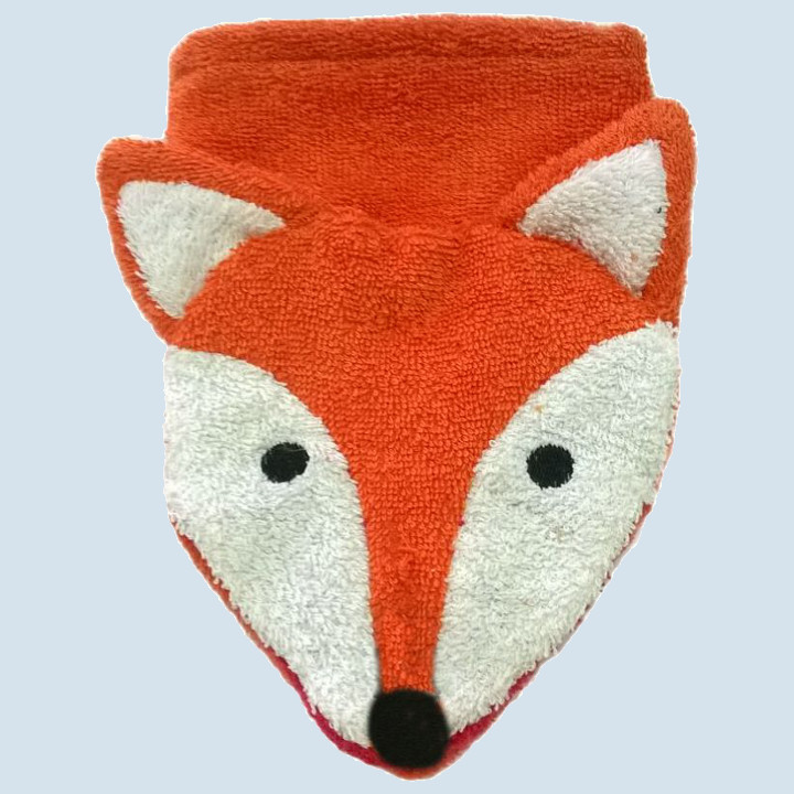 Fuernis - organic wash glove - fox