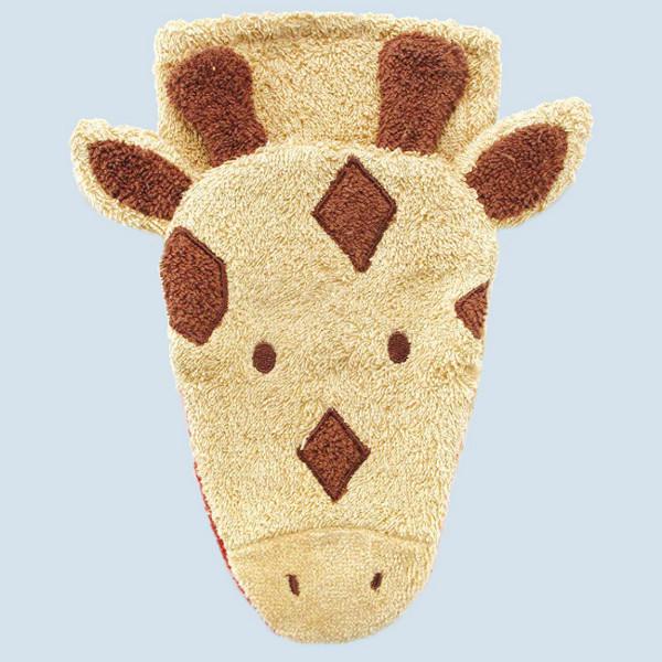 Fuernis - organic wash glove - giraffe