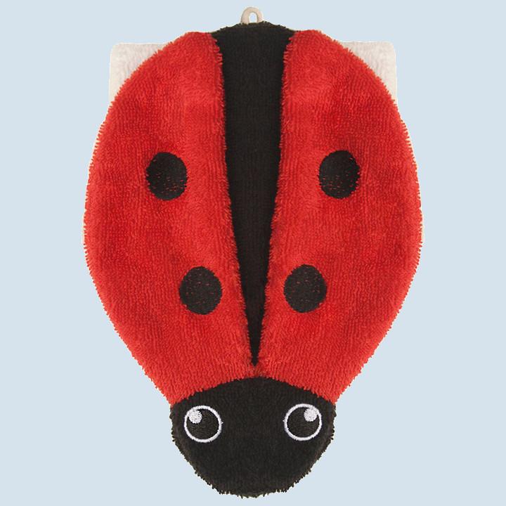Fuernis - organic wash glove - ladybird