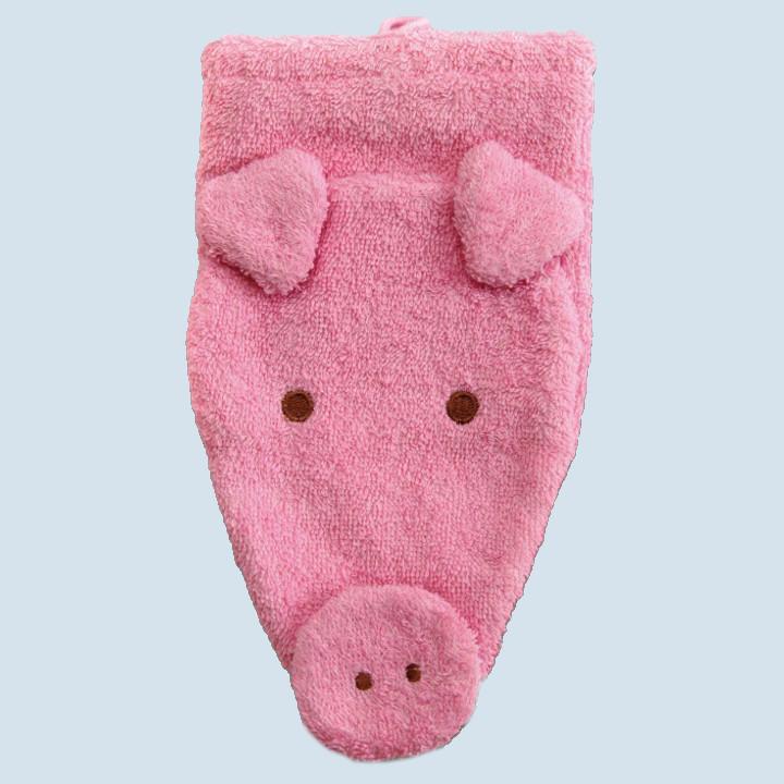 Fuernis - organic wash glove - pig