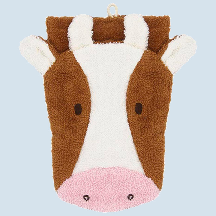 Fuernis - organic wash glove - cow