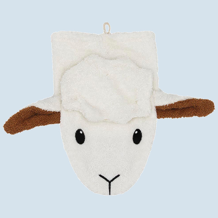 Fuernis - organic wash glove - sheep