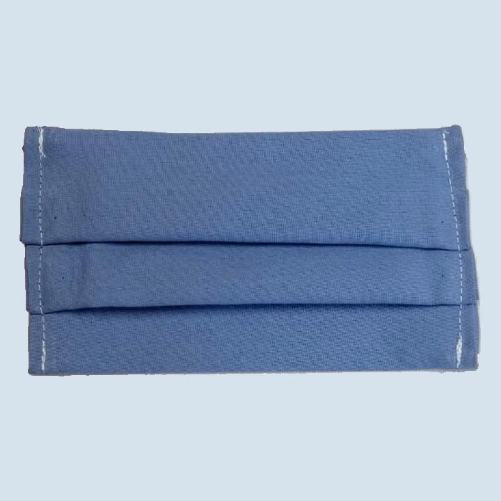 mudis - Gesichtsmaske - königsblau, Baumwolle, Bio Qualität