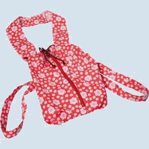 Glückskäfer - Tragesack für Puppen - Farbe rot