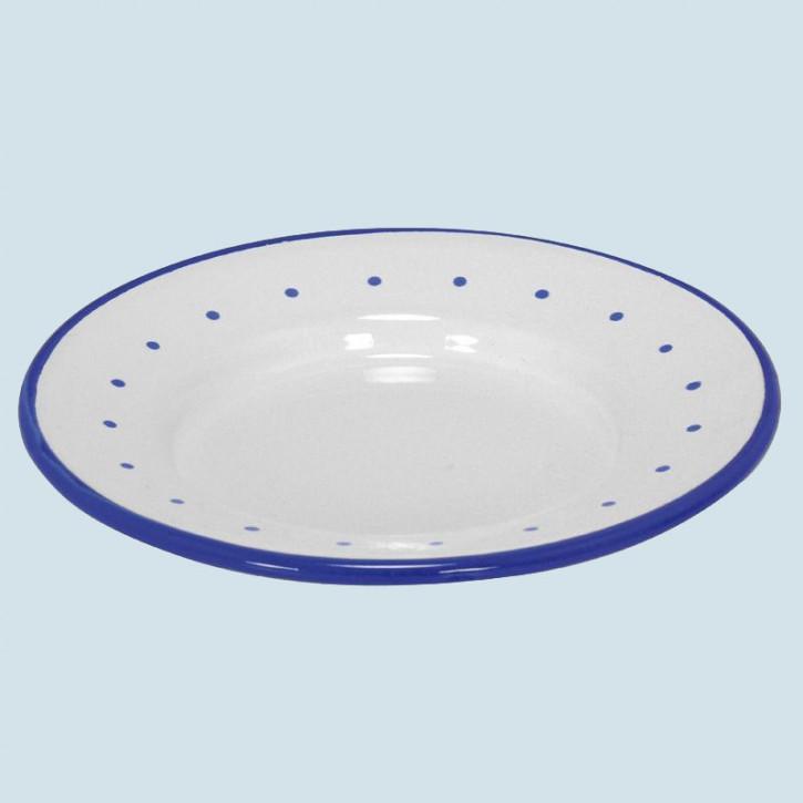 Glückskäfer - Teller, Emaille, weiß, Zubehör Spielküche