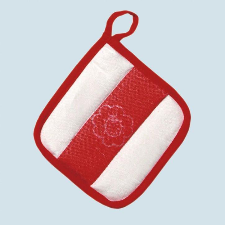 Glückskäfer - Topflappen - Zubehör für Kinderküche