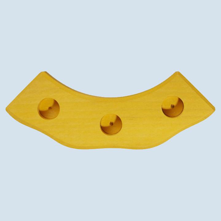 Glückskäfer - Geburtstagswelle - gelb