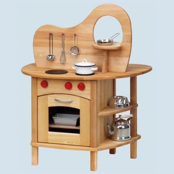 Glückskäfer - Spielküche mit Aufsatz, Holz