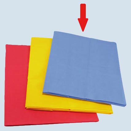 Glückskäfer - Spieltuch gross für Kaufladen - blau, Baumwolle