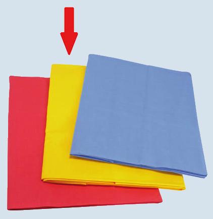 Glückskäfer - Spieltuch gross für Kaufladen - gelb, Baumwolle