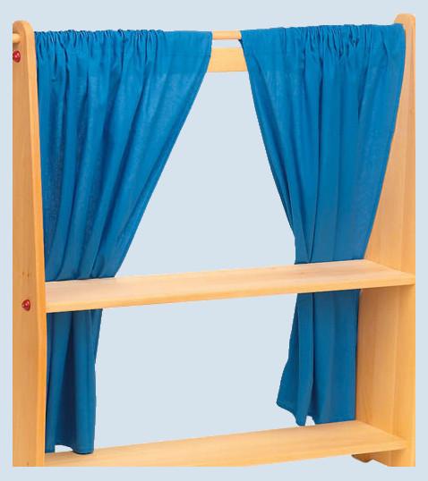 Glückskäfer - Vorhänge für Spielhaus - Baumwolle, 2-teilig