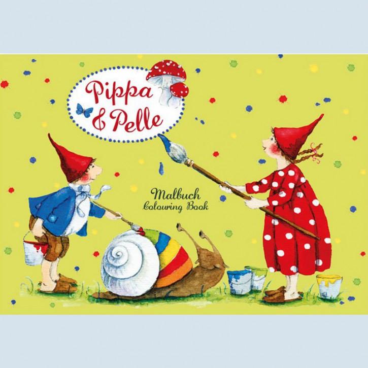 Grätz Verlag - Mini Malbuch - Pippa und Pelle